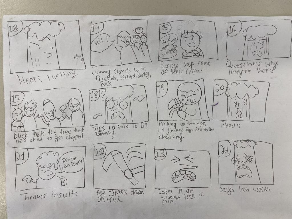 Wisdom Tree Storyboard