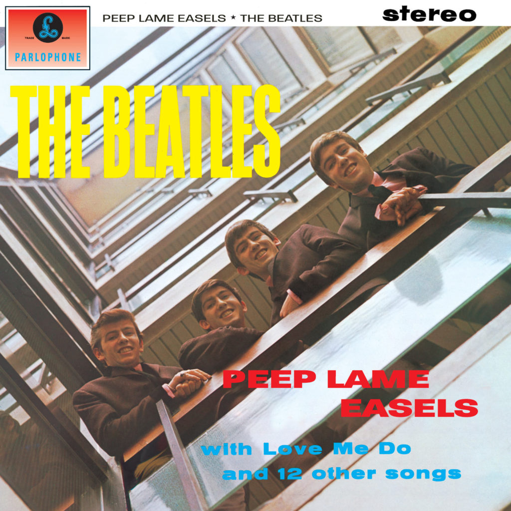 Peep Lame Easels (Please Please Me) album cover