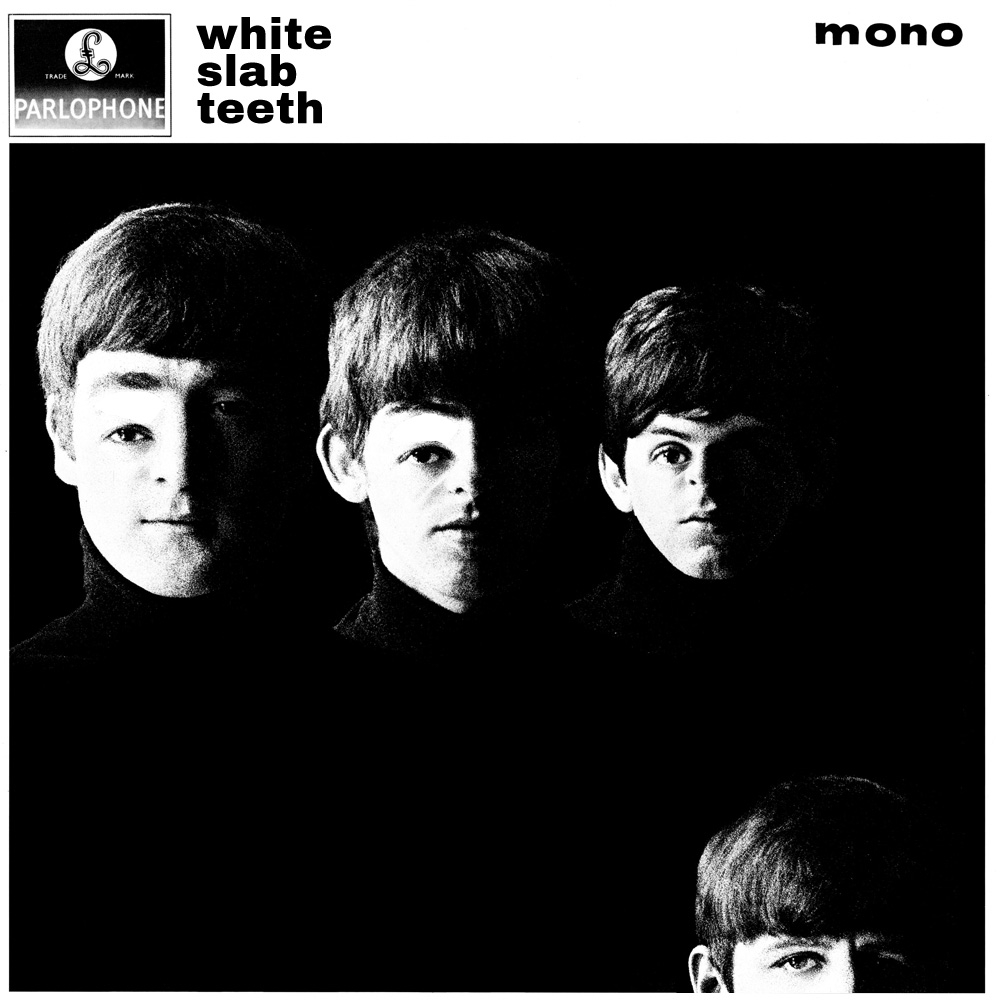 White Slab Teeth (With The Beatles) album cover