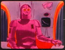 Rodney, the big pink robot